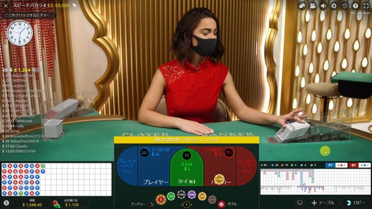 オンラインカジノ*2*BACCARAT