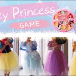 [3か月企画]ディズニープリンセス・ルーレットゲーム【えいごdeおもちゃ】How do you feel now?|Disney Princess Dress Game|幼児子供向け英語学習知育動画