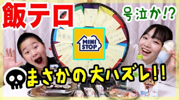 【飯テロ#22】号泣!!ハズレありのミニストップルーレット【ANN & RYO 】