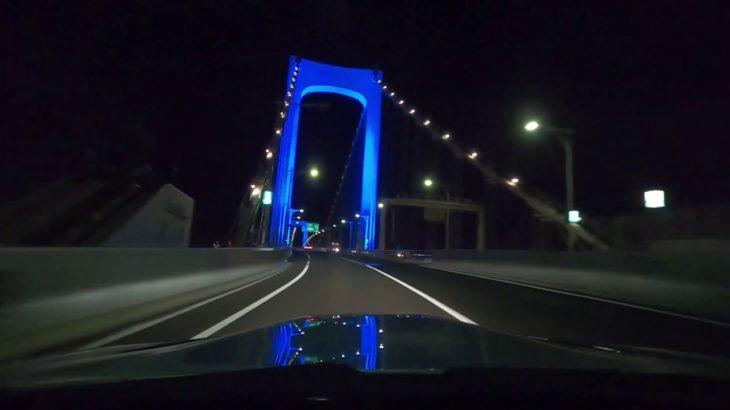 【首都高】走り屋、ルーレット族、スーパーカーが集合する辰巳パーキングエリアから東京スカイツリー、レインボーブリッジを眺めて一周するコースをBMW M3 E92 でナイトドライブ!