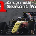 【F1 2019 実況】おいおい、そりゃないて… ルーレットが決めるキャリアモード S1R1
