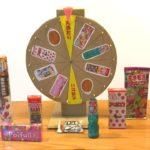 ラッキールーレットの作り方(景品用ルーレット)How to make a Fortune wheel spinning lucky roulette