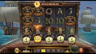 ボーナス多彩で、ネットカジノ・スロットの面白い機種、『Jolly Roger 2』(たまに大爆発も♪)/プレイ方法の解説&YouTube動画!