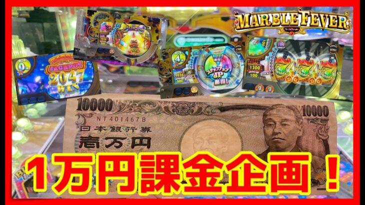 【メダルゲーム】期間限定ルーレットで1万円課金でお店よりお得になる?「マーブルフィーバー 」