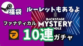 【Steam福袋】ルーレットもついてくる   ファナティカルBackstage Mystery Bundleにチャレンジ
