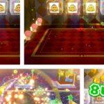 switch版 スーパーマリオ3Dワールド WORLD スター ルーレット ベルを4つ揃えて8UP!