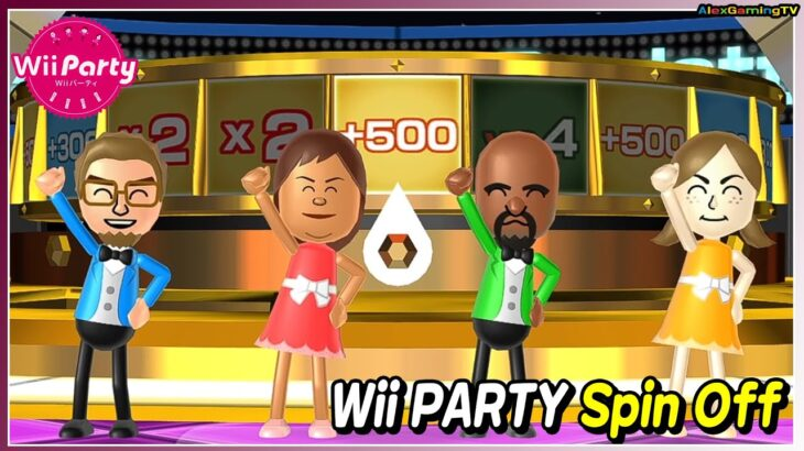 Wii パーティー ルーレット (Wii Party, Spin Off, Master com) Player AlexGaming