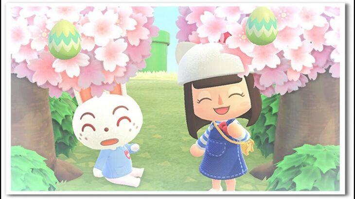 【あつ森】桜レシピを集めながら、ルーレット抽選会☆ライブ!【うさぽてと】