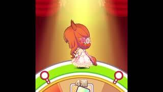 【ウマ娘】ルーレット上にいるマヤノトップガンが可愛い