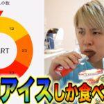 【ルーレット】アイス好きが3日間アイスしか食べれない生活してみた!!!!