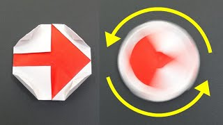 """動く折り紙「運命のルーレット」Action Origami """"Roulette of Destiny"""""""
