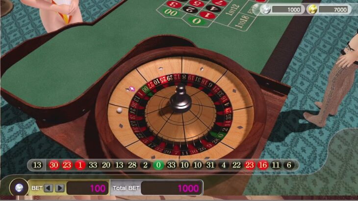 DOAXVV   ルーレット 入門   36倍   #DOAXVV#ルーレット#カジノ
